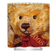 Teddy's Anniversary Shower Curtain