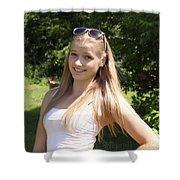 Teen Beauty Shower Curtain