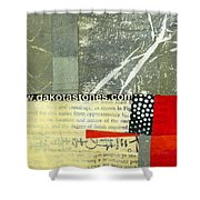 Teeny Tiny Art 119 Shower Curtain