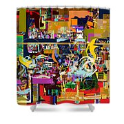 Tefilla Without Cavona 2c Shower Curtain