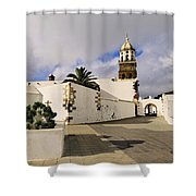 Teguise On Lanzarote Shower Curtain