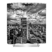 Tel Aviv High And Above Shower Curtain