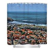 Tel Aviv Spring Time Shower Curtain