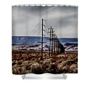 Telegraph Road Shower Curtain