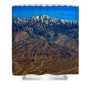 Telescope Peak Shower Curtain