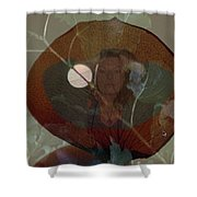Tell Me Winter Reflection  Shower Curtain