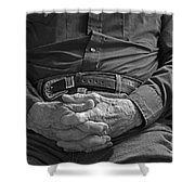 Telling Tales Shower Curtain