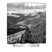 Telluride Backcountry Shower Curtain