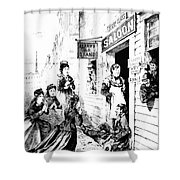 Temperance Movement, 1874 Shower Curtain