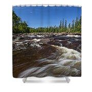 Temperance River 1 Shower Curtain