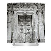 The Ancient Temple Door Shower Curtain