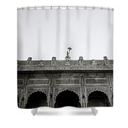Temple Elegance Shower Curtain