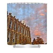 Temple High Shower Curtain