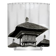 Temple In Ubud Shower Curtain