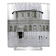Temple Mount Shower Curtain