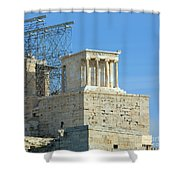 Temple Of Athena Nike Shower Curtain