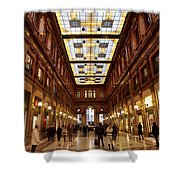 Temple Of Commerse Shower Curtain