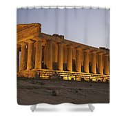 Temple Of Concordia In The Valley Of Shower Curtain