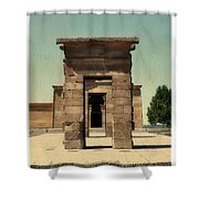 Temple Of Debod Shower Curtain