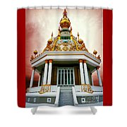 Temple Of Dramatic Art Shower Curtain