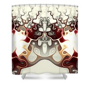 Temple Of Light Shower Curtain by Anastasiya Malakhova