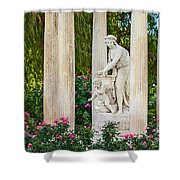 Temple Of Love Shower Curtain