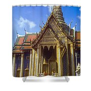 Temple Of The Emerald Buddha Shower Curtain