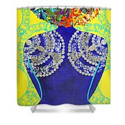 Temple Of The Goddess Eye Vol 3 Shower Curtain