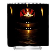 Temple Of The Light Shower Curtain
