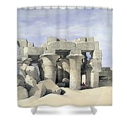 Temple On Nile Shower Curtain