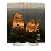 Temples 1 And 2 -  #3 Shower Curtain