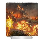Tempt With Vengeance Shower Curtain
