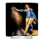 Temptation  Shower Curtain by Bob Orsillo
