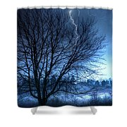 Tempting Fate Shower Curtain