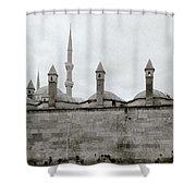 Ten Minarets Shower Curtain