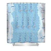 Ten Of Swords Shower Curtain