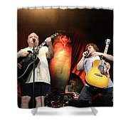 Tenacious D - Kyle Gas And Jack Black Shower Curtain