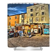 Tenby Boat Trips Shower Curtain