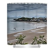 Tenby Panorama 3 Shower Curtain