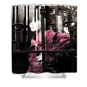 Tended To The Bar Shower Curtain
