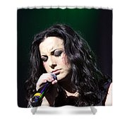 Tender Moments On Stage Shower Curtain