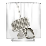 Tenderizer Shower Curtain