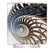 Tendril Shower Curtain