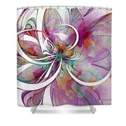Tendrils 01 Shower Curtain