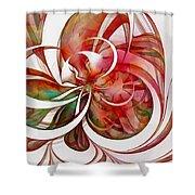 Tendrils 05 Shower Curtain by Amanda Moore