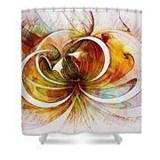 Tendrils 14 Shower Curtain by Amanda Moore