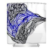 Tenebrosity Shower Curtain