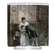 Tenement: Doctor, 1889 Shower Curtain