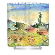 Tenerife Landscape 01 Shower Curtain