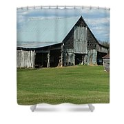 Tennesse Barn Shower Curtain